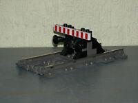 LEGO-Eisenbahn 4512 Prellbock mit 9V Schiene !