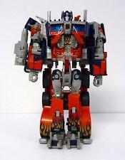 "TRANSFORMERS MOVIE OPTIMUS PRIME Hasbro Leader Class 10"" Figure COMPLETE 2007"