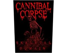 CANNIBAL CORPSE a skeleton 2014 - GIANT BACK PATCH - 36 x 29 cms