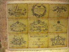Vintage French / Paris Labels for Scrap booking or Bottles (9)