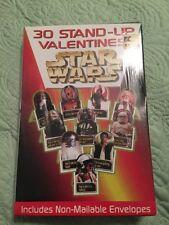 Star Wars 30 Stand-Up Valentines. Sealed. Nip 1997