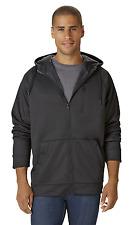 Men's Outdoor Spirit Big/Tall Fleece-Lined Hoodie Jacket Black 3XLT #NKXDT-1203