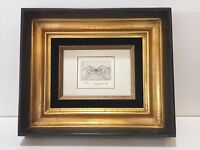 Stanley Koppel Etching Print, Signed and Numbered, 7/25, Framed
