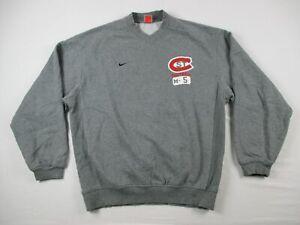St. Cloud State Huskies Nike Sweatshirt Men's Gray Cotton Used Multiple Sizes