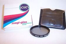 Rolev MG 52 mm NEW ND .3 Screw-In Filter with Pouch/Box  (K-120)