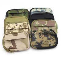 Tactical Waterproof Waist Pack  EDC Coin Purse Phone Mini Outdoor Sport Men Bags