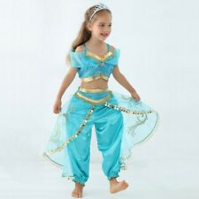 Princess Jasmine costume for kids, Perfect for Halloween party, size  5Y-6Y