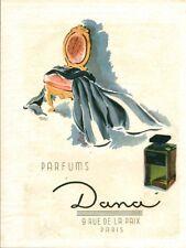 Publicité ancienne parfum Dana 1946 issue de magazine