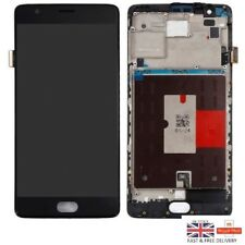 NEW OnePlus 3 Three A3000 A3003 Full LCD Display Touch Digitizer + Frame Black