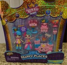 "Shopkin's Happy Places Royal Trends Welcome Pk ""Squirrel Palace Party"" NEW"