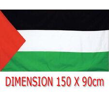 DRAPEAU 150 X 90 cm PALESTINE PALESTINIEN flag fahne chèche keffieh Falistīn سطي