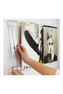 Vinyl Record Frame Wall Mount and Shelf Stand Invisible and Adjustable 1 Pack