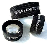 Combo Pack of Double Aspheric Lens 20D 90D & 78D Free Shipping Worldwide
