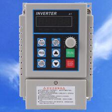 Neu Frequenzumrichter Einphasig VFD Inverter für 3-phase Motor  220V 0.75kw 5A