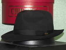 CHRISTYS' OF LONDON FUR FELT TRILBY FEDORA HAT