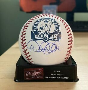 Derek Jeter DJ3K Autograph Signed Baseball Yankees, Steiner Sports and MLB COA