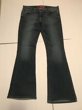 GUESS FOXY FLARE LOW RISE STRETCH WOMENS DENIM BLUE JEANS size  32