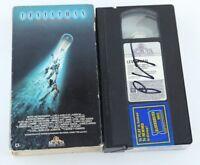Leviathan VHS Tape 1989 Horror Peter Weller George P Cosmatos Meg Foster Amanda