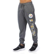 Zubaz NFL Men's Pittsburgh Steelers Gameday Camo Wordmark Jogger Pants