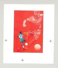 Eritrea #272 1996 Olympics Soccer 1v S/S Unissued Chromalin Essay