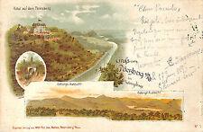 PETERSBERG CARTE POSTALE GRUSS HOTEL  1896
