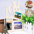 Sweet Wooden Hollow Love Photo Picture Frame Family Home Decor Art DIY Gifts