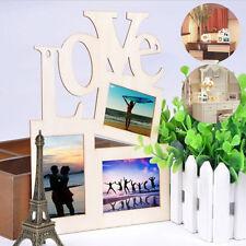 Dolce In legno Hollow Love Cornice Foto Famiglia Arredo Casa Arte FAI-DA-TE