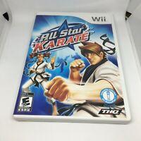 All Star Karate (Nintendo Wii, 2010) Complete NTSC-U/C