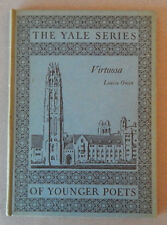 Virtuosa by Louise Owen (The Yale Series of Younger Poets, 1930)