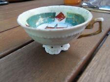 Vintage tea coffee cup tasse the café porcelaine deco MAISON DU ROI Bruxelles