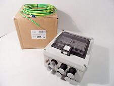 DEFA 701686 Life Boat Electric Central Fuse Box 230V AC 16A IP44 2-In 4-Outputs