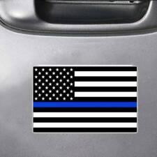 Blue Lives Matter Police USA American Flag Window Trunk Car Sticker Decal
