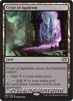 CRYPT OF AGADEEM Commander 2014 MTG Land Rare