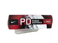 3 Ball Nike National Security Agency Logo Pd Long Power Distance Nsa Golf Balls