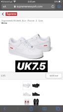 Nike Supreme Air Force 1 AF1 Supreme UK7.5 US8.5 READ DESCRIPTION bundle