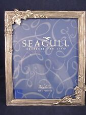 """SEAGULL PEWTER Picture Frame 8""""x10"""" Ivy Vine 1994 Etain Zinn # PF325 ~ NEW"""