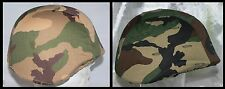 GB - 1 (One) x Italian Helmet Cover : Desert Somalia or NATO Woodland type