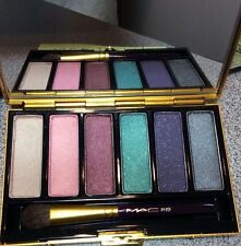 BNIB VINTAGE MAC EYE SHADOW PALETTE: PATTERNMAKER: 6 COOL COLORS, DISCONTINUED
