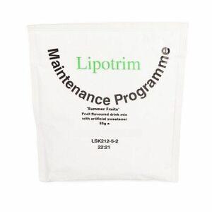 Lipotrim Maintenance Summer Fruit drink: weight loss diet / weight maintenance