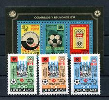 Uruguay 1313/15 Block 21 postfrisch / Fussball ...........................2/2272