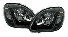 SMOKED CLEAR HEADLIGHTS HEADLAMPS FOR MERCEDES SLK R170 04/1996-04/2004 MODEL