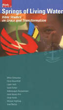 Springs of Living Water: Bible Studies on Grace And Transformation-ExLibrary