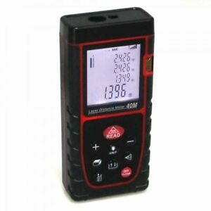 Electronic Digital Point Laser and Shoot Distance Tape Measure