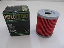 HIFLO HF972 FILTRO OLIO per YAMAHA CP 250 Morphous USA 2006 2007 2008 2009