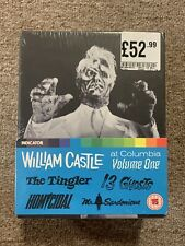 William Castle at Columbia Volume One Limited Edition Blu-Ray, Indicator, Sealed