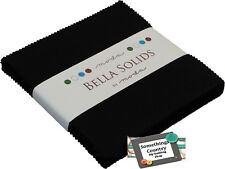 Moda Charm Pack Bella Black Patchwork Quilt 5inch Squares Country Fabric