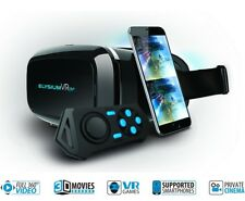 GOCLEVER VR Brille Virtual Reality 3D 360° Bluetooth Controller Android iPhone