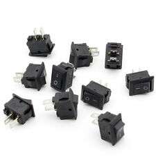 10x On/Off Rocker Switch Boat Mini Small Automotive/Car/Truck Dashboard/HouseUse