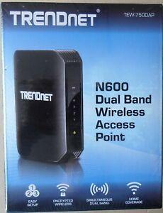 Trendnet N600 Dual Band Wireless Access Point - TEW-750DAP