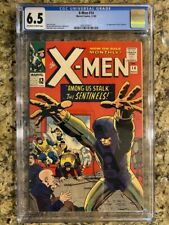 X-MEN 14 CGC 6.5 OW/W PAGES FIRST SENTINELS